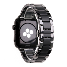Ceramic sandblasted matte sports strap for Apple Watch Series 2 3 4 5 iwatch 42mm 38mm 40mm 44mm watchbands Bracelet wristband
