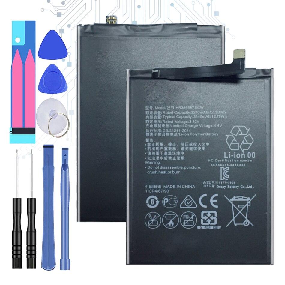 3340mAh HB356687ECW Battery For Huawei Nova 2 Plus Nova 2i Honor 9i Huawei G10 Mate 10 Lite For Huawei Honor 7X With Track Code