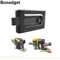 04 Bonadget 3500mAh 21.6V החלפת סוללה עבור דייסון DC16 DC12 912,433-01 912,433-03 912,433-04 כלי חשמל שואב אבק סוללה (1)