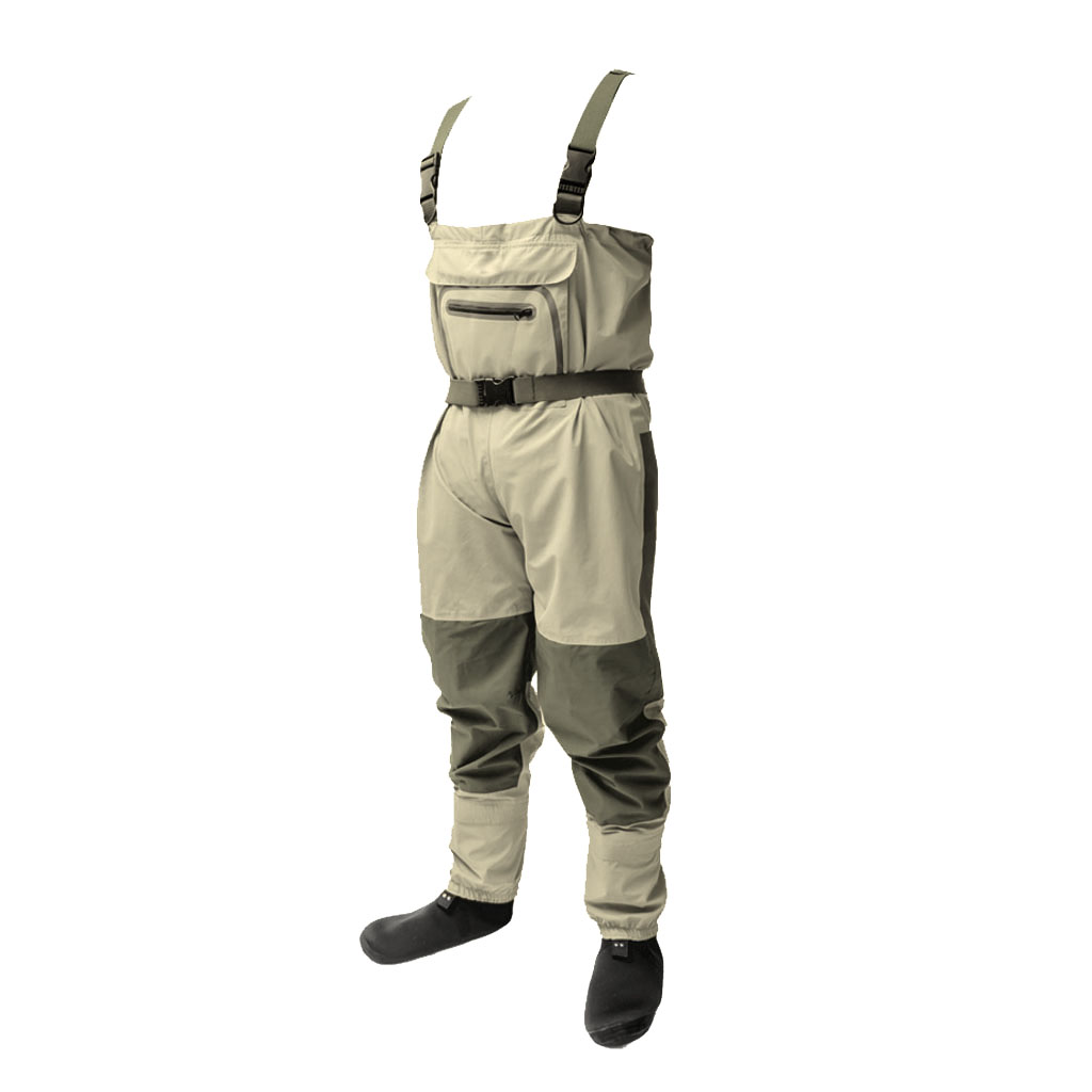 Sunnimix Fishing Waders waterproof chest waders Fishing Boots Tool 3 Layer Technology Adjustable Wading Belt with