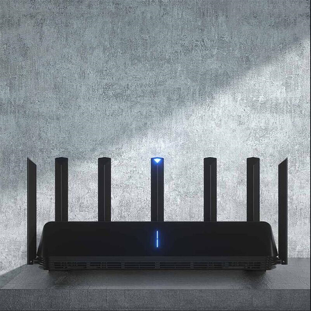Novo xiaomi ax3600 aiot roteador wifi 6 5g wifi6 600 mb de banda dupla 2976mbs gigabit taxa qualcomm a53 amplificador de sinal externo 3