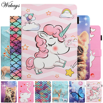 For Samsung Tab A8 A 8 2019 Case SM-T290 Cute Cartoon Leather Smart Cover Galaxy 8.0 T290 T295 T297 - discount item  12% OFF Tablet Accessories