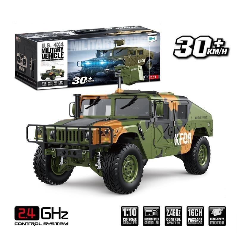 JTY Toys 1:10 Hummer RC Trucks 4X4 военный автомобиль 30 км/ч металлическая система привода водонепроницаемый грузовик с дистанционным управлением Багги гусеничная машина|Радиоуправляемые грузовики| | АлиЭкспресс