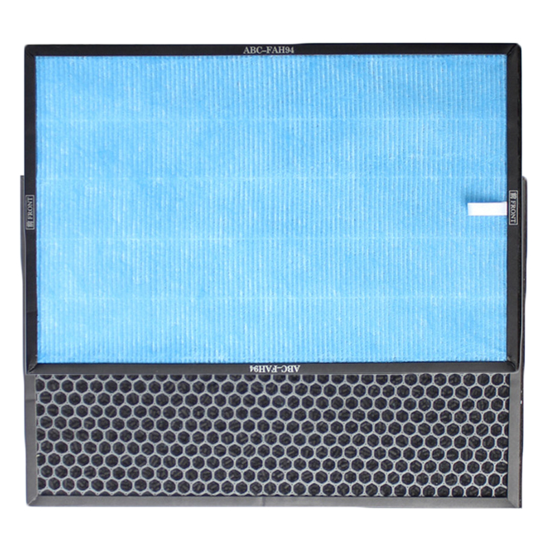 Active Carbon Composite Strainer Filter Kit For Sanyo Air Purifier ABC-VW24 HVAC Systems & Parts New