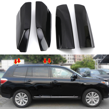 For Toyota Highlander 2009-2014 Car Accessories Roof Rack Rail End Cover Shell Replacement Cap