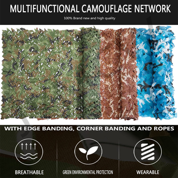 4mx2m /5mx2m Hunting Military Camouflage Nets Woodland Army training Camo netting Car Covers Tent Shade Camping Sun Shelter army hunting camping military camouflage net outdoor tactical camo netting car covers tent blinds conceal drop