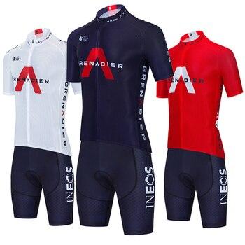 INEOS-Ropa deportiva de equipo de Ciclismo para hombre, Maillot de secado rápido,...