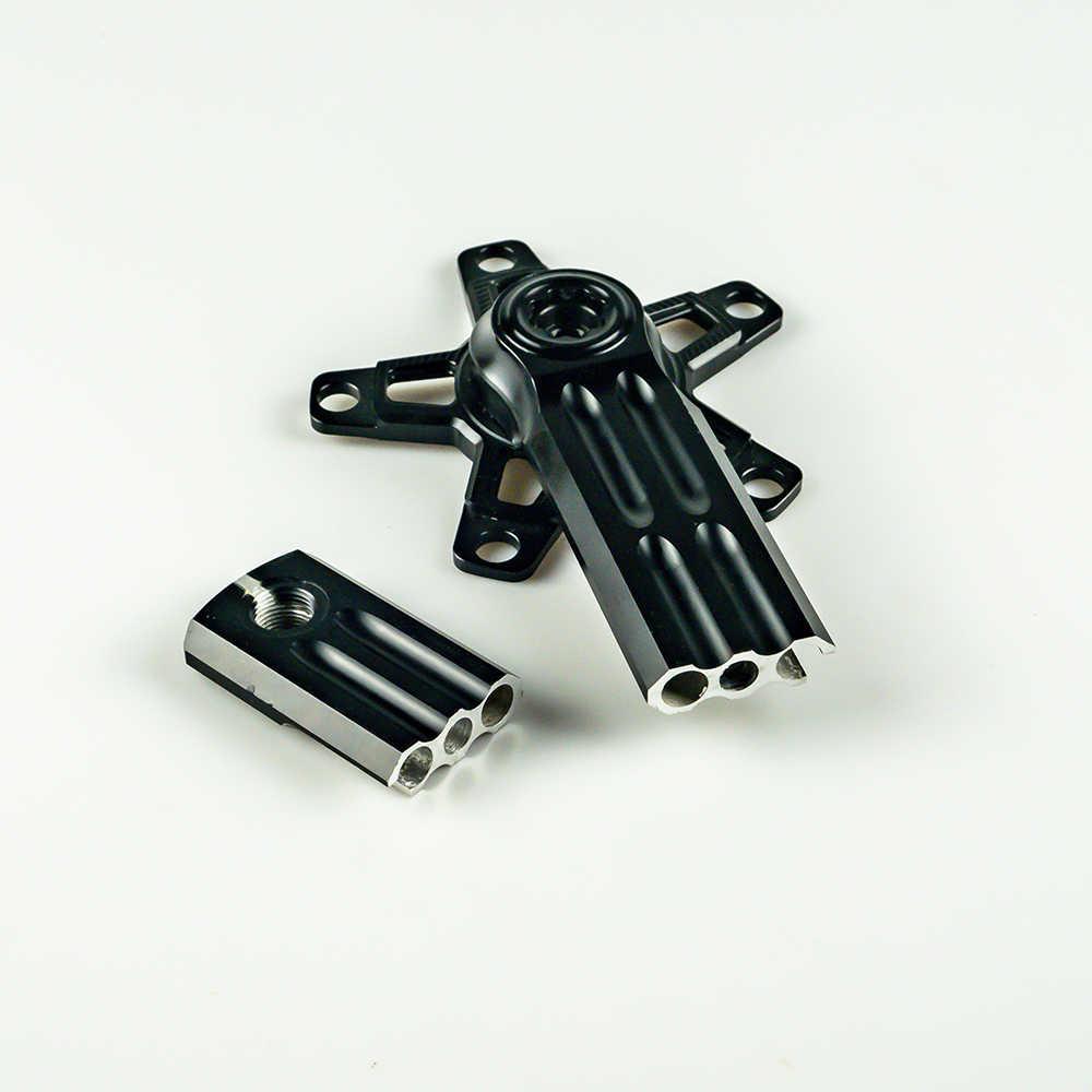 XQK P/édalier de VTT en alliage daluminium 170 mm avec manivelle creuse int/égr/ée