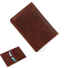Męskie skórzane portfele męskie portfele męskie cienkie męskie etui z miejscem na karty Cowskin miękkie Mini torebki nowy projekt Vintage Men Short Sl tanie tanio WZDEWO Prawdziwej skóry Skóra bydlęca Krótki Poliester Leatherwear Stałe Biznes 14 5cm Nie zamek Standardowe portfele