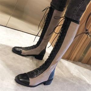 Image 5 - FEDONAS Kaliteli Karışık Renkler Hakiki Deri Kadın yarım çizmeler Klasik Yuvarlak Ayak Chelsea Çizmeler Yüksek Ayakkabı Kadın kısa çizmeler