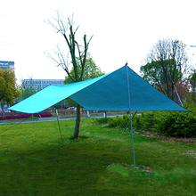 Markiza plaża Outdoor Camping markiza ogrodowa do wędkowania i wypoczynku baldachim parasol przeciwsłoneczny hamak Tarp wodoodporny namiot cień tanie tanio Pu powlekane Altany Oxford Żeliwo
