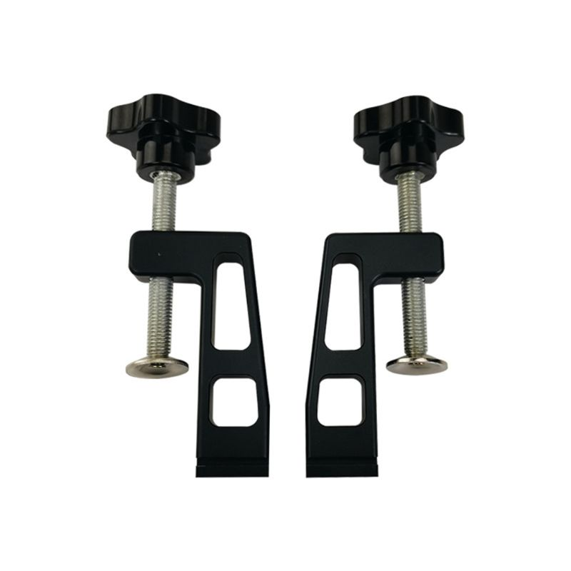 Set Of 2  Clamps For Standard Aluminium T-track 45mm Woodworking Tools 649E