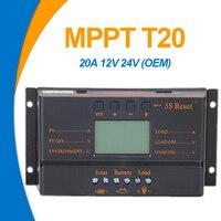 EASUN POWER regulador Solar MPPT-controlador de carga para Panel Solar, regulador de batería de 20A, 12Vdc, 24Vdc, USB, 5V, pantalla LCD, venta al por mayor