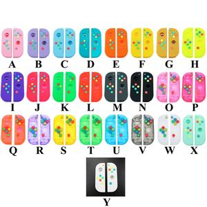 Image 3 - YuXi Multi Farbe 23 farbe für Nintend Schalter NS Freude Con Ersatz Gehäuse Shell Abdeckung für NX JoyCons Controller shell Fall