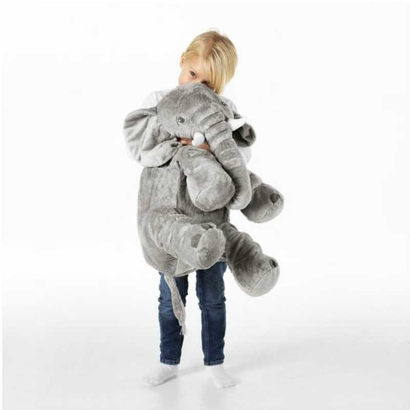 Grote Olifant Speelgoed Knuffels Knuffels Kids Olifant Zachte Kussen Baby Pluche Pop Baby Speelgoed Kinderen Gift Drop Shipping