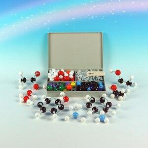 Image 1 - 240 Pcs כימיה Atom מולקולריים ערכת סט כללי מדעי ילדים חינוכיים דגם סט