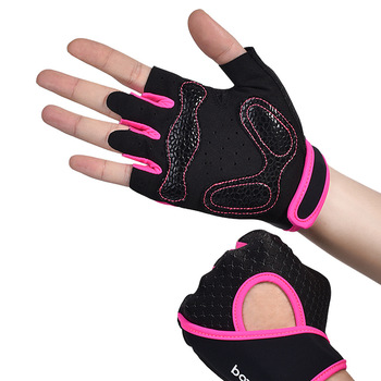 Lovers weight lifting anti slip gloves equipment fitness breathable wrist guard outdoor sports Half Finger Gloves high quality sports gym gloves wrist weights fitness men gloves half finger breathable anti skid silica women gloves