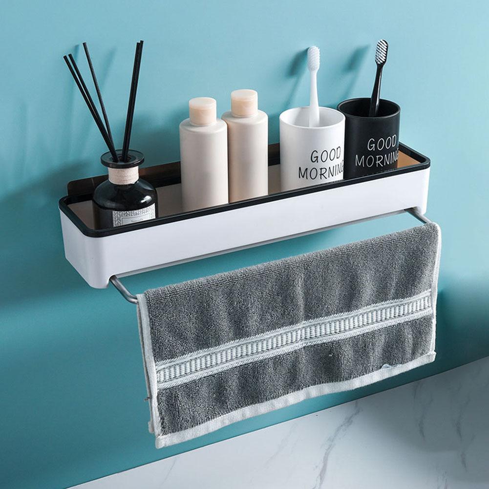 Bathroom Shelf Corner Towel Hooks For