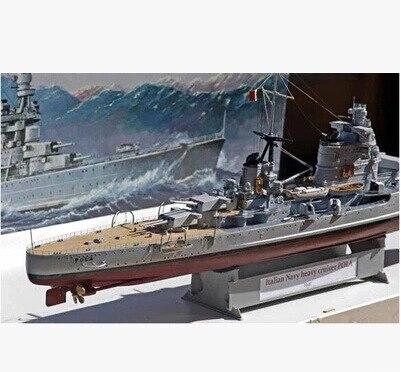 Trumpeter Assembly Military Model Ship Model 1/350 Italian Heavy Cruiser Pola