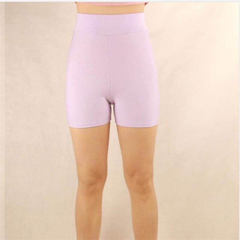 Shikoroleva Lady Shorts 2020 Stretch Modal Cotton High Waist Tummy Control Short Feminino Black White Pink Plus Size 7XL 6XL XS