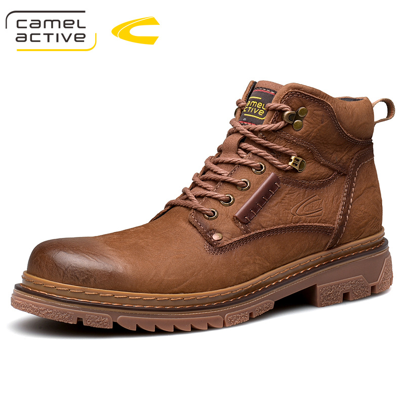 2020 New Arrivals High Quality Men Genuine Leather  Casual Shoes Martins Boots   Outdoor Shoes Tooling Shoes