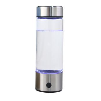420ML Generator wody hydrogenicznej ekspres alkaliczny akumulator przenośny do czystej elektrolizy butelek wody bogatej w wodór H2 tanie i dobre opinie chcyus Dzban Oczyszczania wody Bezpośredni drink Jonizator Pulpit Terminal oczyszczanie Jun-15 Wysokiej Jakości Wody Pitnej