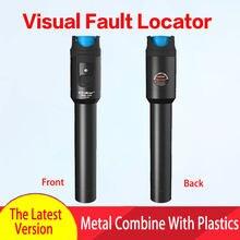 Localizzatore di guasti visivi Tester per cavi in fibra ottica 30mw luce Laser rossa 5-30KM tipo di penna localizzatore di guasti visivi