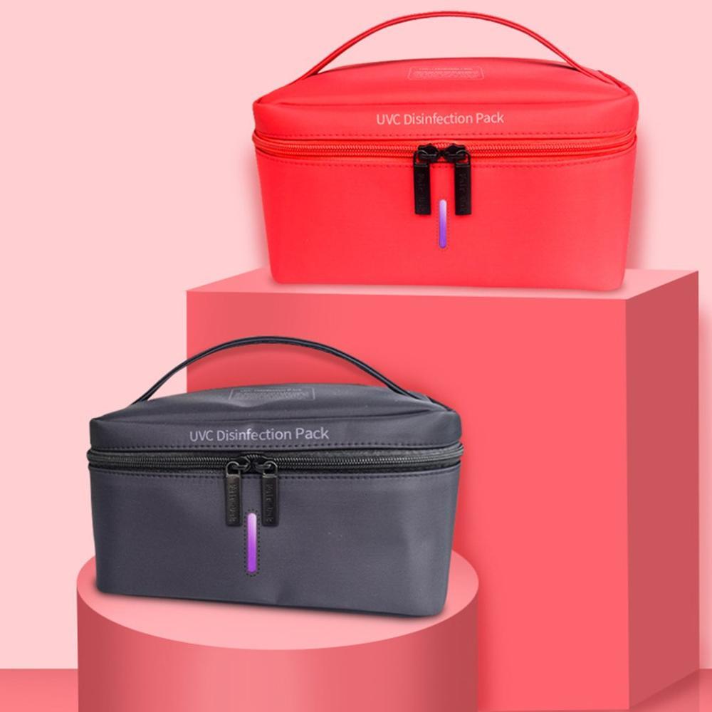 New UV Sterilizer Bag Led Usb Charging Mask Underwear Mobile Phone Multifunctional Outdoor Indoor Disinfection Portable Pack Bag