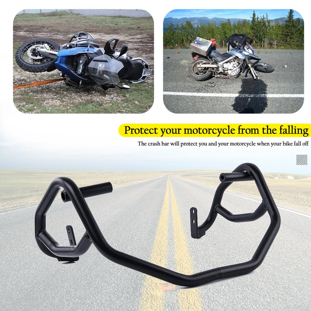 D DOLITY Motorcycle Rear Highway Saddlebag Guards Crash Bars for Kawasaki Z900RS Z900 RS 2018-2019