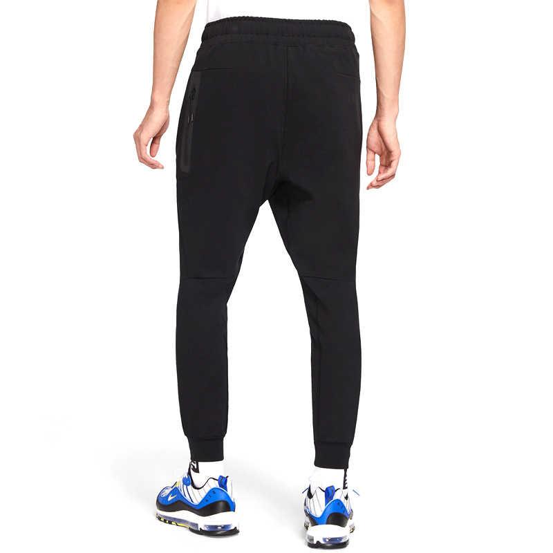 Nova chegada original nike m nsw pe jggr ponte calças esportivas masculinas
