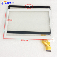Nova tela de toque Para 10.1 ''polegada ZONNYOU ZN 107A/KT107 Tablet MID Tela de Toque capacitivo Painel de Digitador de Vidro Exterior|Painéis e LCDs p/ tablet| |  -