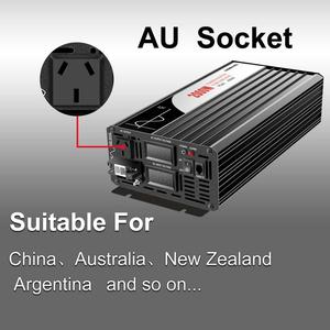 Image 4 - 2000W Pure Sine Waveอินเวอร์เตอร์พลังงานแสงอาทิตย์DC 12V 24V 48V To AC 110V 220Vดิจิตอล