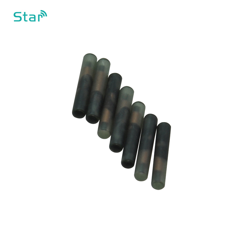 50pcs Fdx-A Embedded Chips T5577 Animal Capsule Microchip 2.12*12mm 125khz Cylindrical Rfid Tag For Dog Cat Rabbit Cow Snake Id