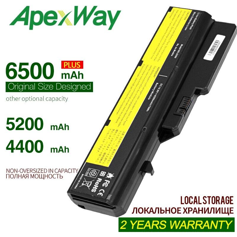 ApexWay Z570 G780 B570e аккумулятор для ноутбука  For Lenovo Z570 G560 B570e G780 G770 Z560 L09m6y02 ForIdeaPad Z560 Z565 Z465