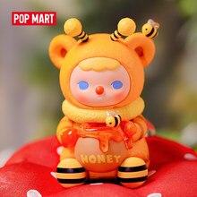 Pop mart pucky mel abelha bebês coleção boneca collectible bonito ação kawaii animal brinquedo figuras frete grátis