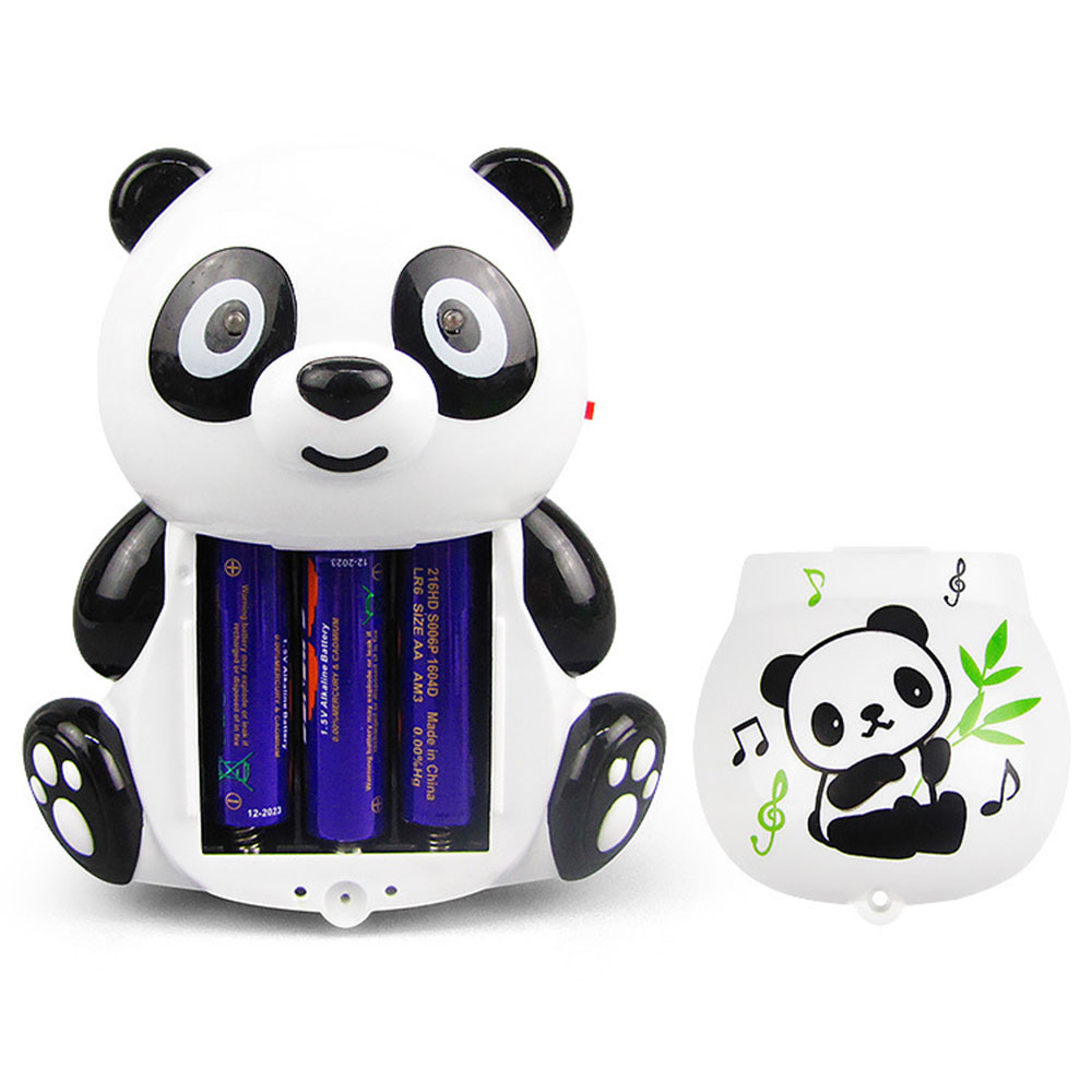 Electric Panda Light Music Toys Children Toys Chicken Shape Toys Cartoon Dazzle Dance 360 Degree Rotation Holiday Gifts Toy