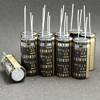 4PCS THAILAND NEW ELNA RFS SILMIC II 50V470UF 16X35.5MM SILMICII 470UF 50V hot sale 470uf/50v|Operational Amplifier Chips| |  -
