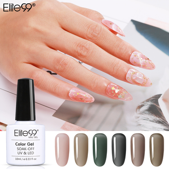 Elite99 Galaxy Grau Gel Polnischen Nail Art Design LED Nagellack UV Farben Vernis Semi Permanent Hybrid Nagellack 10ml