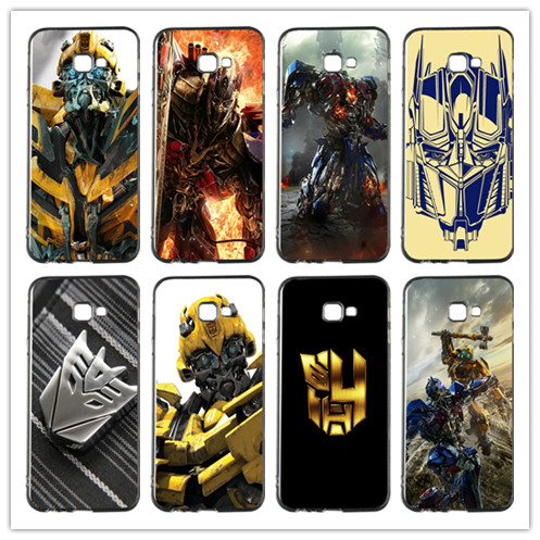 Transformers blue eye Soft TPU Phone Case Cover For Samsung Galaxy A3 A5 A7 Alpha G355H 8262 G360 I9082 G530 J7 J8 On5 On7 2018 image