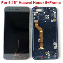 원래 AAA 테스트 최고의 5.15 화웨이 honor 9 honor 9 STF L09 STF AL10 STF AL0 LCD 스크린 디스플레이 + 터치 디지타이저