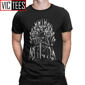 цена на Man's Game Of Thrones Men T Shirts V For Vendetta T-Shirt Funny Crew Neck Short Sleeves Tops Pure Cotton Tees Design