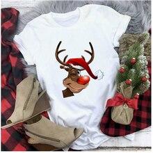 Рождественская кофта harajuku модные женские туфли футболки