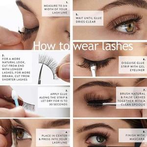 Image 4 - SHIDISHANGPIN 5 pairs mink lashes faux cils make up natural handmade mink eyelashes false eyelash extension makeup maquiagem