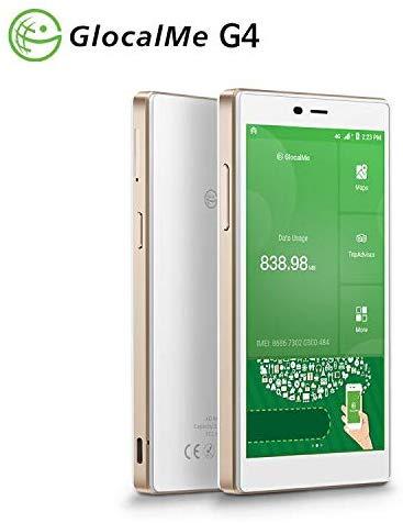 GlocalMe G4 4G LTE Mobile Hotspot, Worldwide High Speed WiFi Hotspot  No SIM Card Roaming Charges International Pocket Wifi