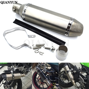 Free Shipping Universal Motorcycle Modified Scooter Exhaust Muffle pipe for Triumph SPEED TRIPLE TIGER 1050/Sport 800 XC/XCX/XR