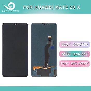 Para Huawei mate 20 X LCD pantalla LCD AMOLED + Panel táctil digitalizador montaje para Huawei pantalla Original