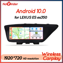 4GB Ram Android 10 GPS สำหรับ Lexus ES200 ES300 ES250 ES350 Es 300 350 250เครื่องเสียงรถยนต์มัลติมีเดีย autoradio 2Din