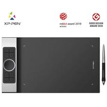 XP-Pen Deco Pro планшет среднего размера 11x6 дюймов 8192 уровень поддержки Android Windows Mac цифровой графический планшет для рисования