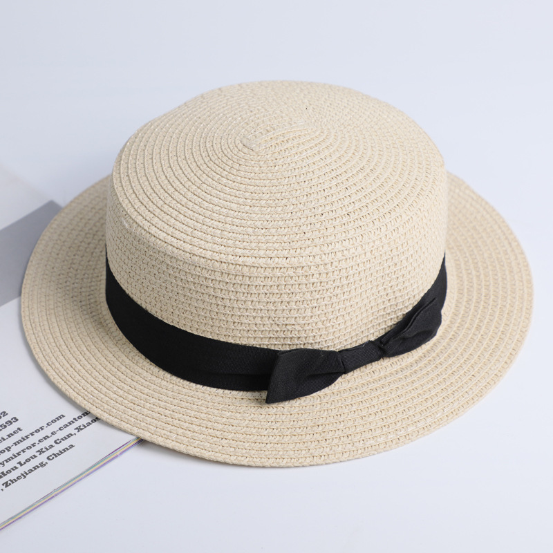 Simple Summer Casual Beach Hat Female 16