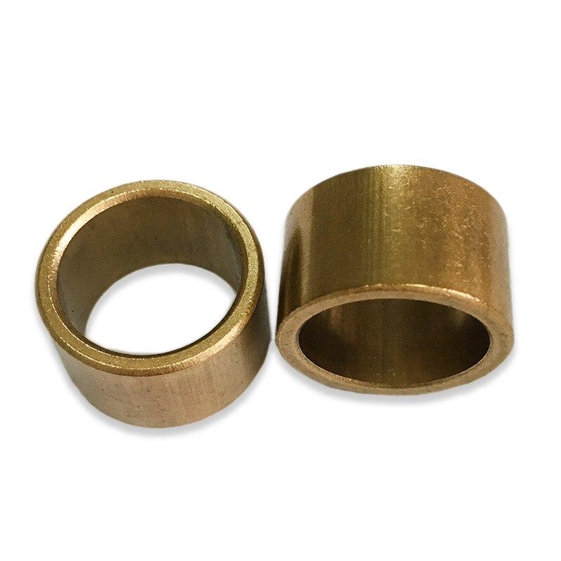 Самосмазывающийся подшипник 5 шт., внутренний диаметр 6, 8, 10 мм, для порошкового металлургического масла, медной втулки, направляющая втулка, ...